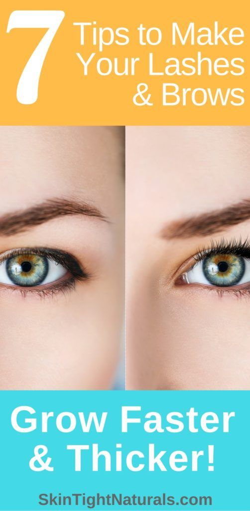 How To Grow Longer Perfect Eyelashes & Brows. http://skintightnaturals.com/how-to-grow-longer-perfect-eyelashes-brows/ #eyelashes  #makeuptips #SkintightNaturals