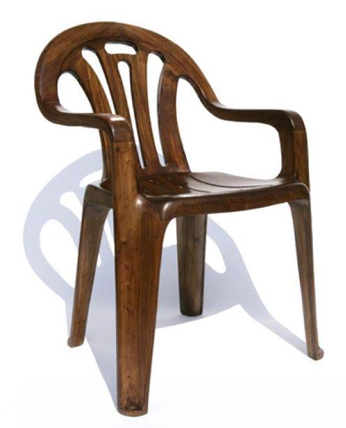 Maarten Baas | Plastic chair in wood