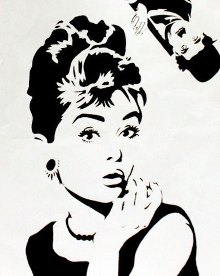 Hepburn   Graffi...P In Graffiti
