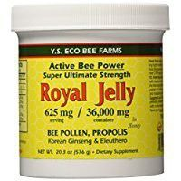 Fresh Royal Jelly + Bee Pollen, Propolis, Ginseng, Honey Mix - 36,000mg Y.S. Org 20.3 oz Thank you to all the patrons We hope that he has gained the trust from you again the next time the service