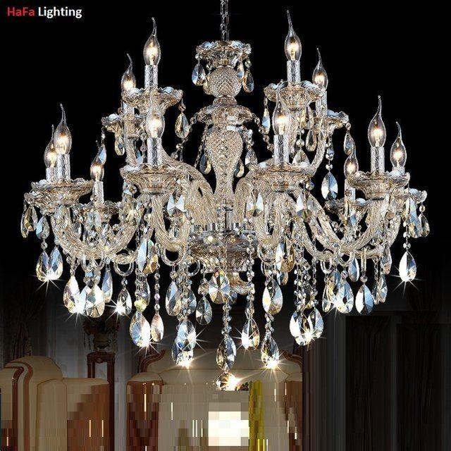 Chandelier Lighting Modern Crystal Living Room Bedroom Crystal