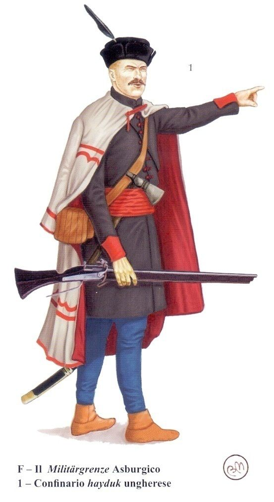 Hajduk, early 17th century