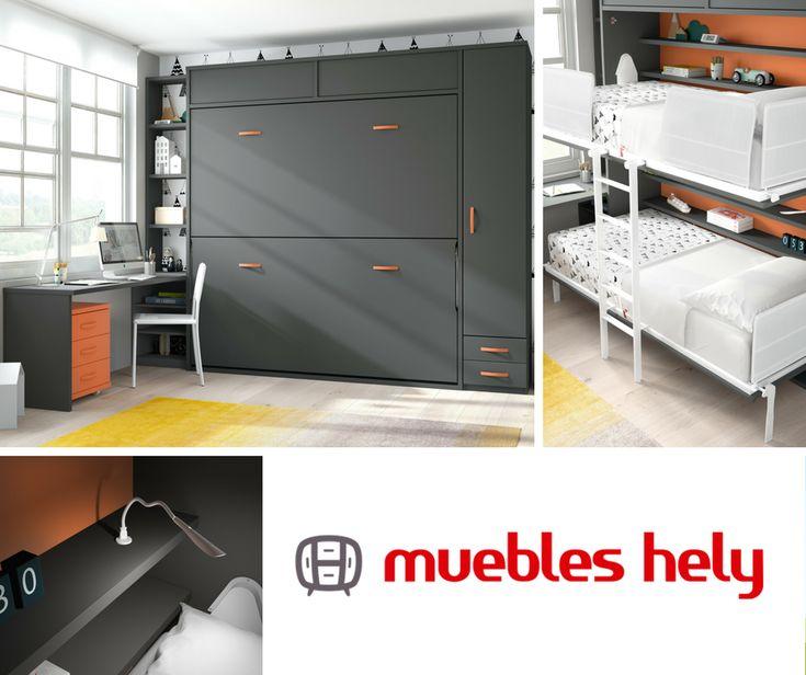 Aprovechamos al máximo tu espacio  https://www.muebleshely.es/  #dormitorio #muebles #mobiliario #camas #mesa #habitacion #diseño #descanso #design #hogar #casa #home #armario #arquitectura #decor #furniture