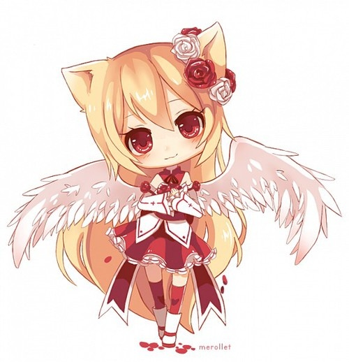 Anime Girl Chibi General Cuteness