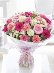 Extra Large Pretty Pink Hand-tied #MyInterfloraMum