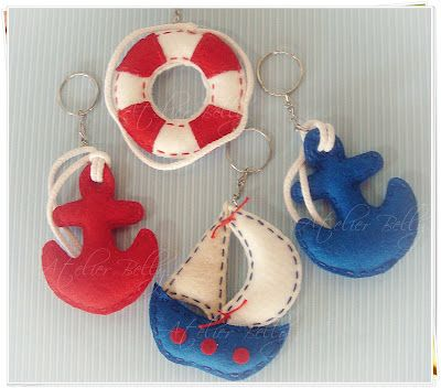 Nautical felt -Atelier Belly
