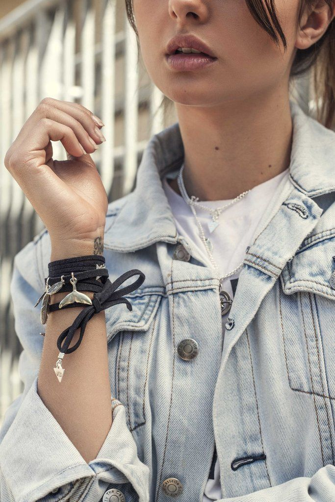 Real Leather Wrap Navy Blue by Loca Wild. Choose & purchase your charms online. Shop bracelet now online.