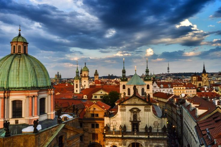 Prague, the City of a Hundred Spires