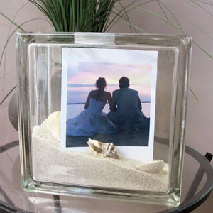 1000 images about picture frames on pinterest sea for Glass block window frame