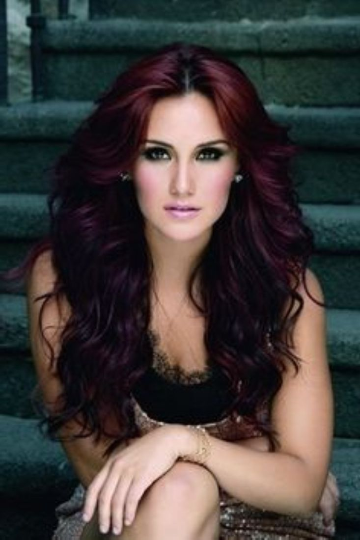 Cute Dark Red Hair Colors Ideas Hairstyles Trend