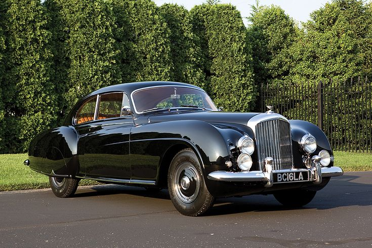 1953 Bentley Continental R-Type Fastback