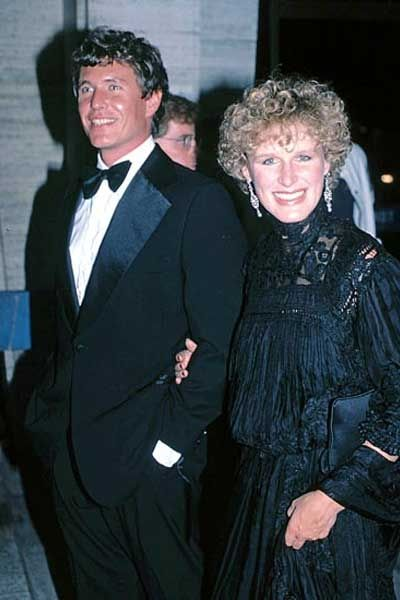 Tom Berenger and Glenn Close, who starred together in The Big Chill, 1983