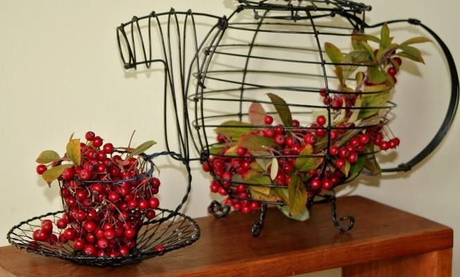 #BACCHE #DIY #AUTUNNO #DECORATION #BERRIES