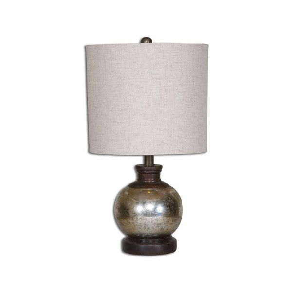 Uttermost Arago Aged Mango Wood One Light Table Lamp ($108) ❤ liked on Polyvore featuring home, lighting, table lamps, alabaster shades, beige table lamps, uttermost lighting, alabaster shade and ivory lamp