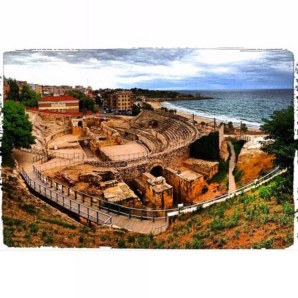 La #fotodeldia és aquesta panoràmica de l'Amfiteatre de Tàrraco, de Inma Guerrero Gil (@exogenesisymphony) #Tarragona