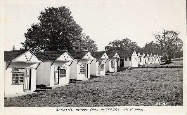 Warners Holiday Camp, Puckpool, Isle of Wight (via Flickr).