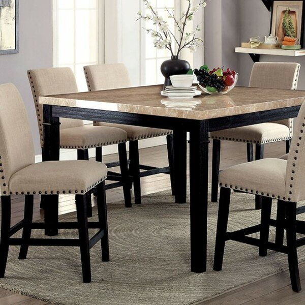 Arick Counter Height Dining Table In 2020 Counter Height Dining Table Counter Height Table Dining Table