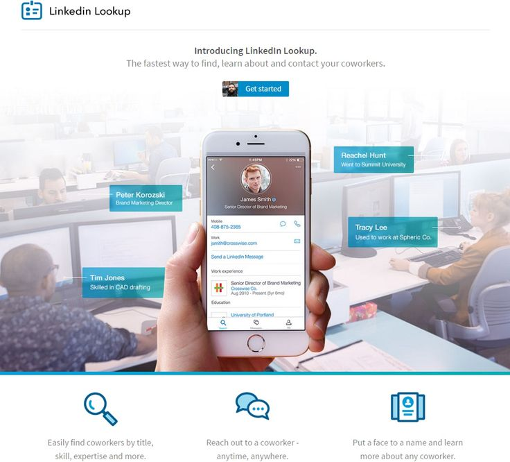LinkedIn Introduces New Lookup Feature: The new feature allows users to search for and connect with coworkers, mainly in companies with…