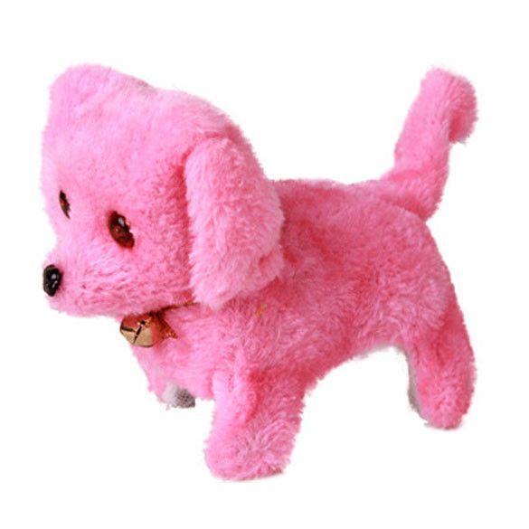 Electronic Pets Toys Barking Dog Battery Powered Plush Electronic toys Walking Dog Toy