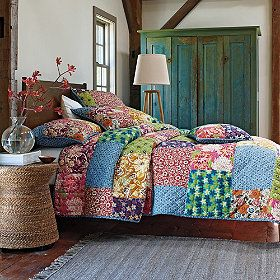 Full Bloom Quilt and Sham