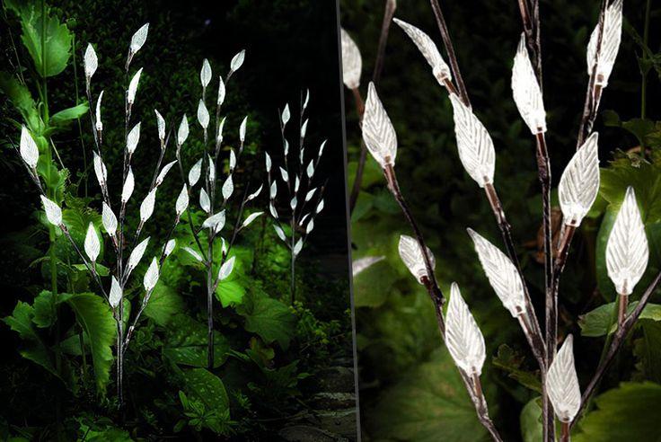 Set of 3 Solar Branch Lights