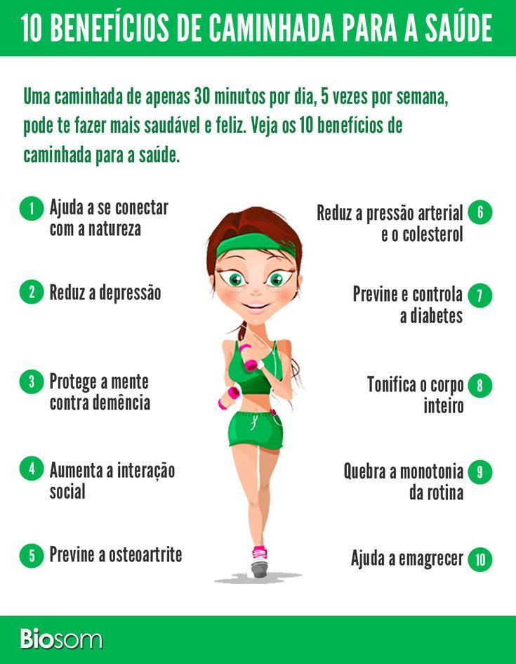 10 benefícios da caminhada infográfico 2