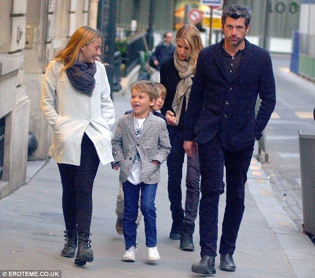 McDreamy holiday! Patrick Dempsey was seen enjoying a holiday in Paris, France, with wife Jill Fink and children Tallulah, Darby and Sullivan on Thursday
