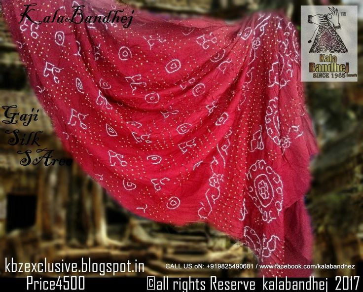 #KalaBandhej #Bandhani #HandMade #FolkArt #Khatri #Kutch #Gujarat #Upada #Pure #Real #Zari #Sarees  #Dupatta #IndianEthnicWear #WomenWear #WeddingWear #BridalWear #Vogue #BollywoodFashion #IndianDesigners #Classy #Stylist #Expensive #Exclusive #Luxurious #GujaratiBandhaniSarees #BandhaniDuppata #KutchiBandhaniDuppata #Traditional #BanarasiSilkDuppata  #in #pure #Crape #Georgette #Material  Pure Silk Bandhani SAree Gaji Silk Saree Gharchola Bandhani Dress Material…