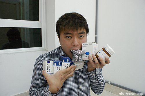Clonazepam 2 mg (Rivotril) and alprazolam 0.5 mg (Xanax)