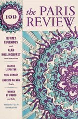 The Paris Review is a literary magazine featuring original writing, art, and in- depth interviews with famous writers.