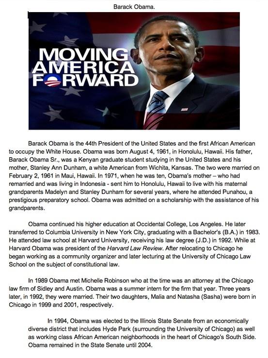 19 best images about Barack Obama U.S. President. on Pinterest ...