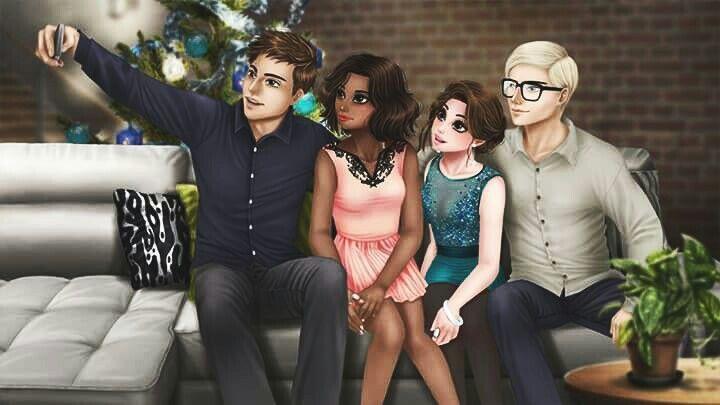 Clement, Jasmine, Lyla & Henri