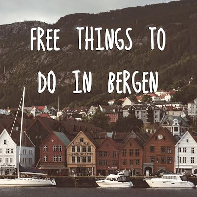 Free things to do in Bergen, Norway - travel tips theartofcheaptravel.blogspot.com