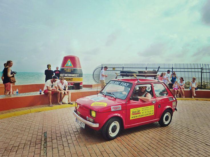 Maluchem dookoła USA część 6: Miami i Florida Keys #maluch #fiat126