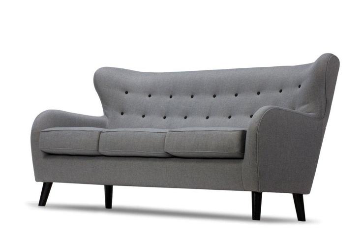 Herbert 3-pers. sofa, vendy grå