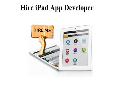#Ipad #Application #Development Is The Need Of The Day! @digitalinfoware
