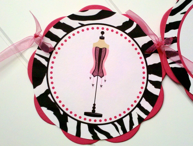 BACHELORETTE Party Banner in Hot Pink and Zebra - Bachelorette Party Decorations. $21.00, via Etsy.