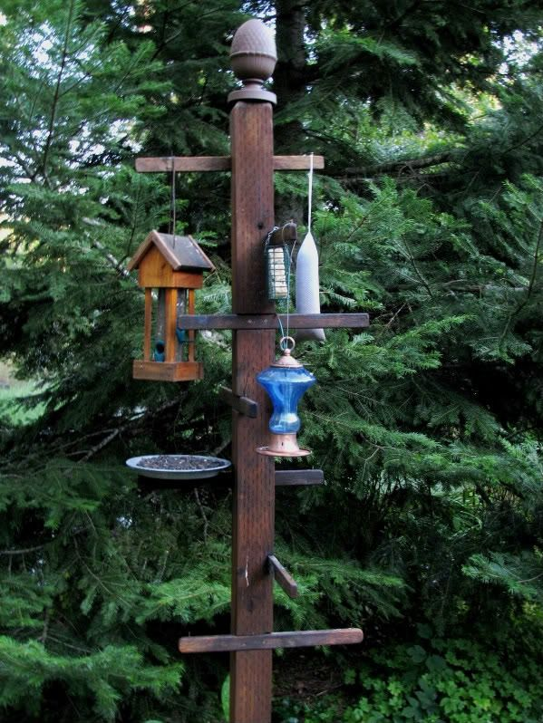 Structure For Hanging Bird Feeders Woodworking Projects
