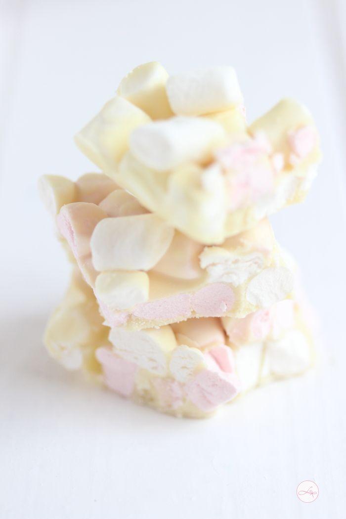 DIY Rezept: Marshmallow-Schokolade selber machen // diy recipe: how to make…