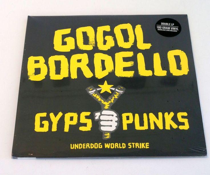 GOGOL BORDELLO gypsy punks DOUBLE Lp Record 180 Gram x2 Vinyl SEALED #PunkNewWave