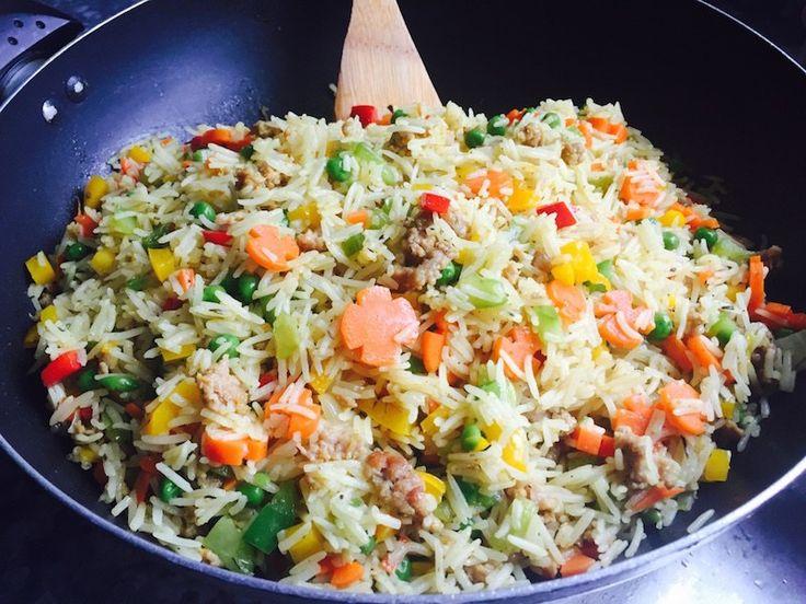 Best- Nigerian - Fried - rice - recipe - Minced - meat