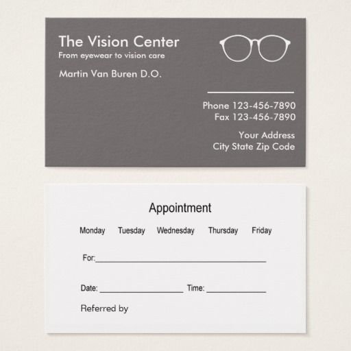 308 best optometrist business cards images on pinterest business optometrist and vision care business card colourmoves