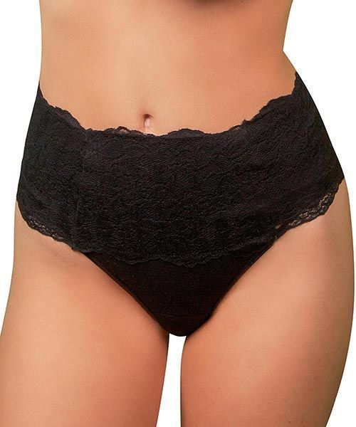 Patented to protect, absorb, and wick away moisture with a soft, natural, and breathable cotton lining. Smooths around the belly button to eliminate muffin tops with no visible panty lines. Addresses issues faced by women of all ages including menopause,