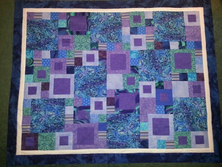 Pacific purples and blues for Shayvaria
