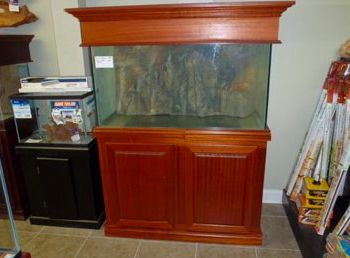 Custom Aquarium Cabinets And Stands For Freshwater And Saltwater