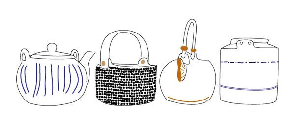 My Teapots by Anni Leppanen, via Behance