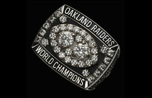 Oakland Raiders Super Bowl Ring