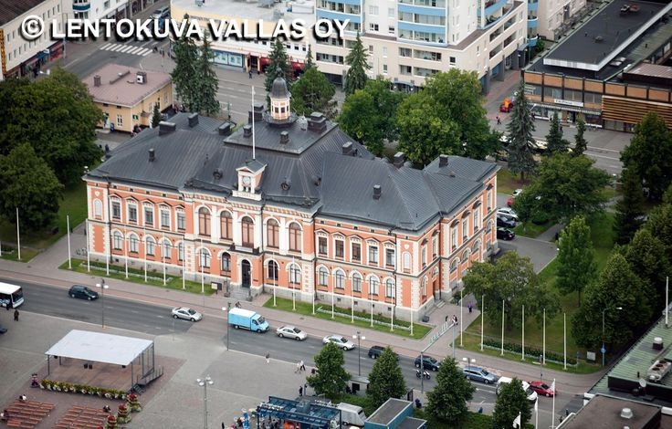 Kuopion kaupungintalo Ilmakuva: Lentokuva Vallas Oy
