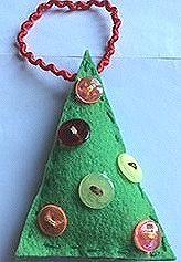 Christmas tree made by Gréta