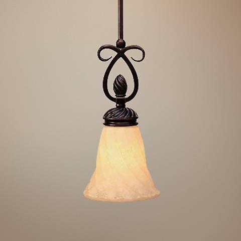 Torbellino Cordoban Bronze Mini Pendant Light